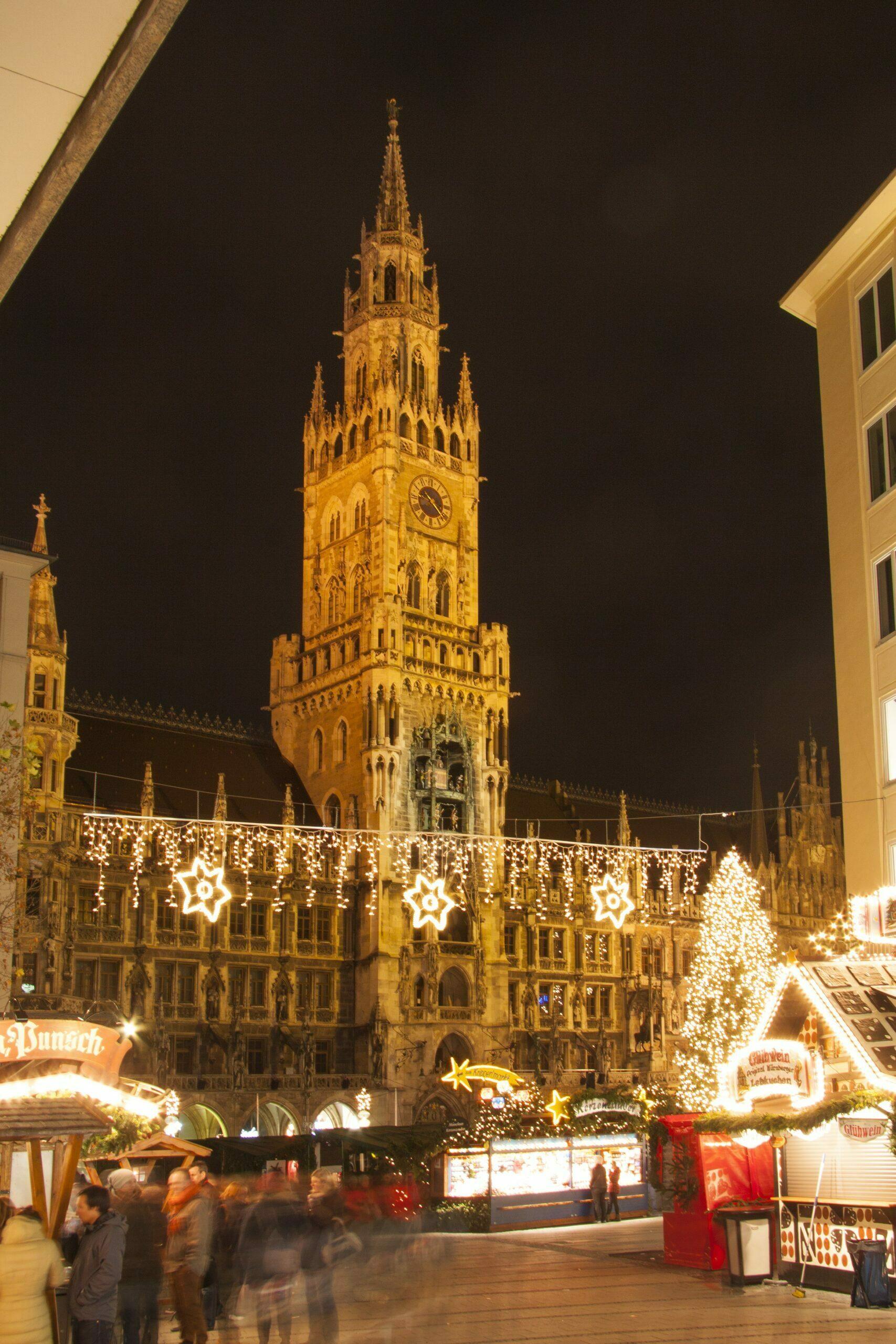 Mercados navideños: clavo, canela y glühwein.